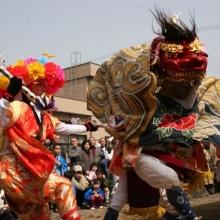 赤井の親子獅子舞