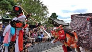 長江の獅子舞