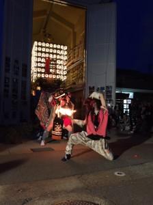 三日曽根横町の獅子舞