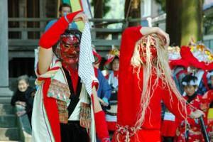 広野の獅子舞