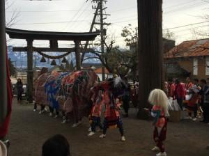岩木の獅子舞[南砺市] @ 越中國礪波郡 荊波神社