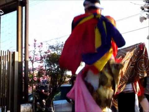 平成26年春 佐加野の獅子舞(高岡市)