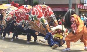 小矢部獅子舞祭