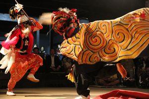 獅子舞実演会