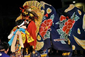 藤木の獅子舞